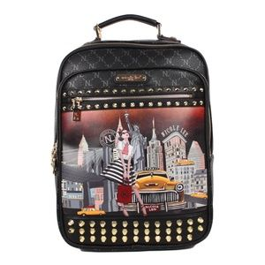 Nicole Lee Taxi Goes New York Backpack